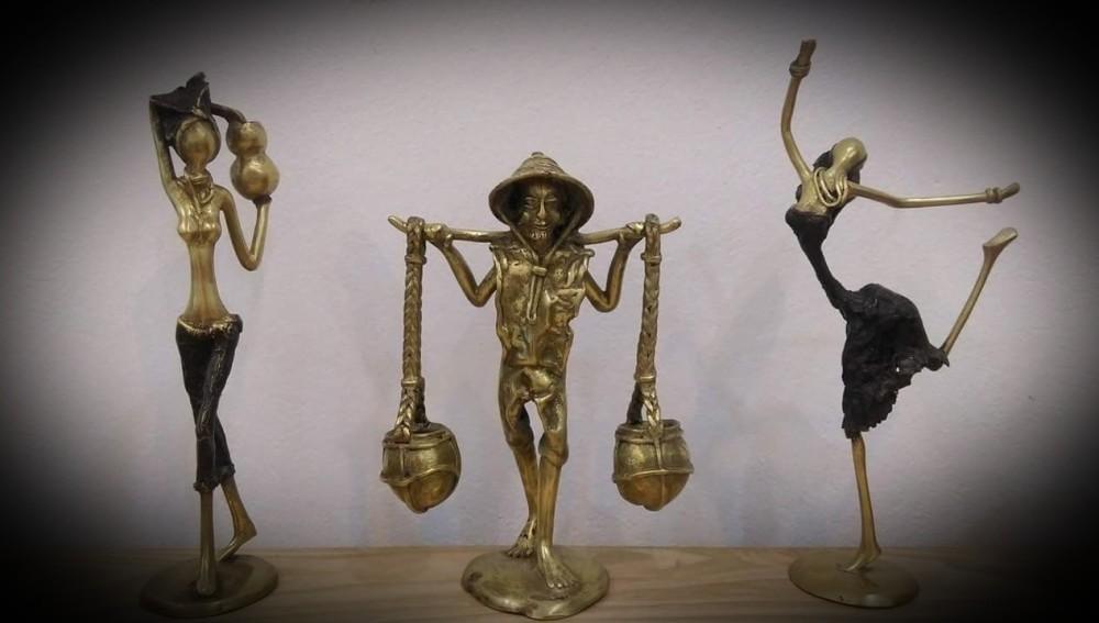 statuettes-en-bronze