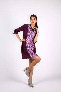 Purple Woodin Dress